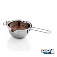 Olla Baño Maria Whiskspro® Chocolate Reposteria Acero Inox