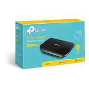 Switch 5 Bocas Tp-link Tl-sg1005d Gigabit 10/100/1000