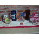 Vasos / Jarritas Choperas De Vidrio Hechas Con Botellas