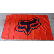 Bandera Fox Racing 1.5por90cm Agencia Club Carreras Motos