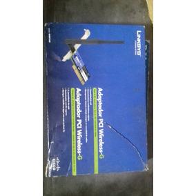 Tarjeta Adactador Linksys Inalambrico Pci Wireless-g