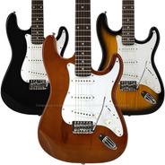 Guitarra Electrica Rock 3 Mics Palanca + Envio