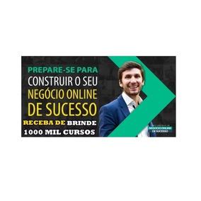 Curso Negocio Online De Sucesso Bruno Pinheiro+1000 Cursos.