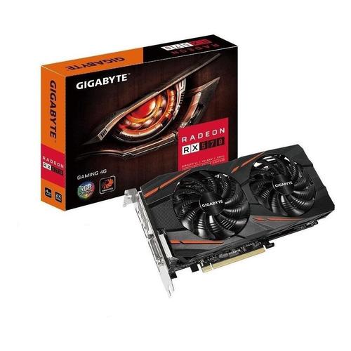 Placa de vídeo AMD Gigabyte Radeon RX 500 Series RX 570 GV-RX570GAMING-4GD (REV 1.0) 4GB
