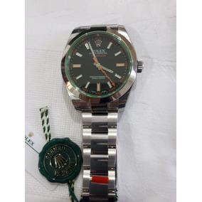 5233949a11b Rolex Milgauss Vidro Safira Verde - Joias e Relógios no Mercado ...