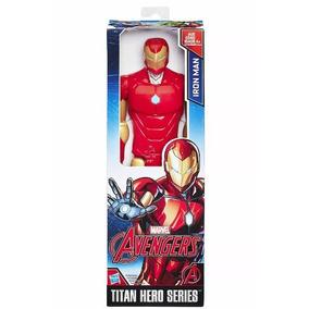 Boneco Homem De Ferro Vingadores Avengers Marvel Hasbro