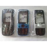 Tapa Carcasa Nokia 2690 Negra Y Azul ¡somos Tienda Física!