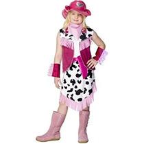 Disfraz Para Niña Traje Vaquera De Los Niños Rodeo