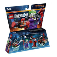 Lego Dimensions Team Pack Dc Comics Joker Y Harley