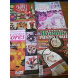 Lote X 4 Revistas Bordado En Cintas Punto Cruz Palermo Envio