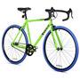 Bicicleta Fixie Takara 700c Grande Marco 58cm Verde Azul