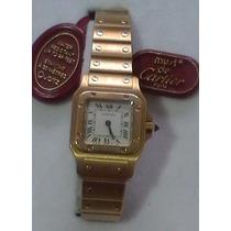 Reloj Cartier Oro 18 K Mujer