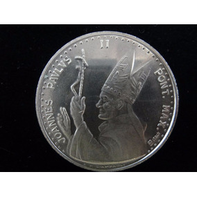 Moeda Medalha Vaticano João Paulo-michelângelo 15.8 G Prata