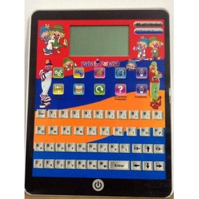 Tablet Infantil Patati Patatá 80 Atividades Tela Lcd