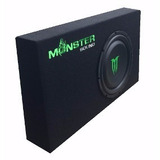 Combo Potencia Monster 550.4 2200w + Sub Woofer Chato M-124s