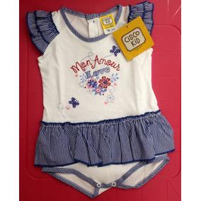 Body Braga Corta Vestido Niña Cisco Kids Buen Precio