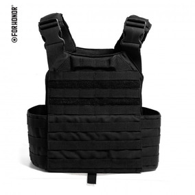 Colete Tático Modular Plate Carrier Airsoft Forhonor Preto