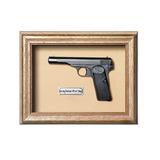 Quadro Réplica Arma Browning Pistol Mod 1922 - Clássico