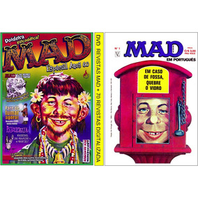 1 Dvd Com Revistas Mad + 70 Revistas Digitalizadas