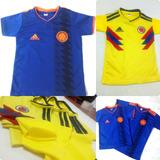 Camiseta Seleccion Colombia Para Niño