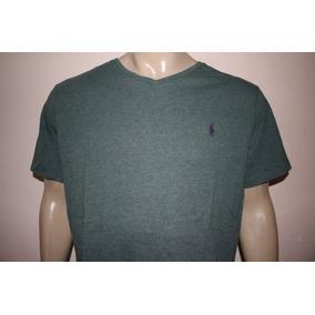 2010fde6a4 Camiseta Masculina Gola V Polo Ralph Lauren Diversas Cores