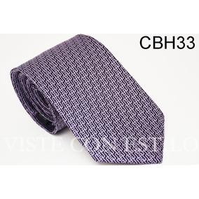 Corbata Seda Hermes Cbh33 Visteconestilo