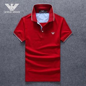 c72f8d17a96f3 Camisa Polo Armani Slim Fit Masculino - Camisa Pólo Manga Curta ...
