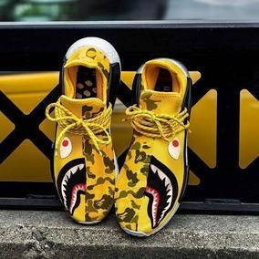 Zapatillas adidas Bape Pharrel Williams Humanrace Importadas