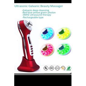 Ultrasonido 3mhz, Galvánica Y Fotones Therapy Face Body Skin
