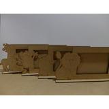 Porta Retratos Animalitos Fibrofacil (mdf Laser (foto 10x15)