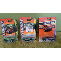 Lote 3 Pick Up, Matchbox