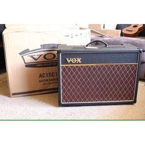 Amplificador Vox Ac15 C1 - 100% Valvulado - Na Caixa Lacrado