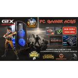 Pc Gamer Ryzen 5 Ram 8gb Gtx 1060 3gb 600w 80+ Bronce