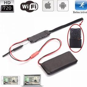 Micro Câmera Hd Espiã Wifi Via Celular