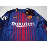 Camiseta Fc Barcelona 100 % Original 2017 - 2018