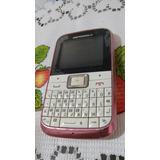 Celular Motorola Ex109=defeito