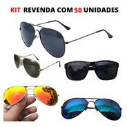 Kit Oculos De Sol Para Revenda No Atacado Unissex Original