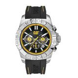 Reloj Cat/cab/caja:acero Inox./goma/chrono - A4 143 24 124