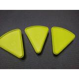 Envases Plásticos Triangular. Envases Para Quesillos