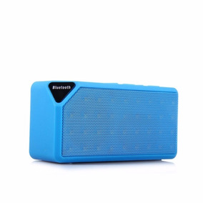 Caixa De Som Bluetooth Mini Speaker X3 Usb Fm Aux Tf