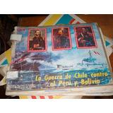 Antiguo Album La Guerra De Chile Contra El Peru Y Bolivia