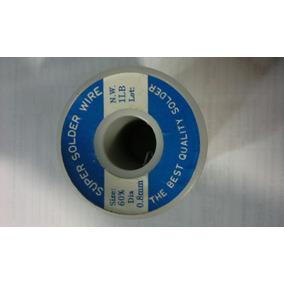 Estaño 1 Libra 0.8mm Super Solder Wire
