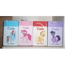 20 Bolsitas De Pequeño Pony Little Pony Para Golosinas