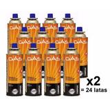 Gás Butano Kit Com 24 Refil 227g Fogareiro Portatil 14665