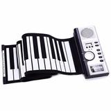 Piano Flexible Enrollable De 61 Teclas/ Juguete Musical