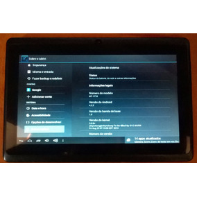 Tablet Navcity Nt1710 Android 4.2.2 Excelente