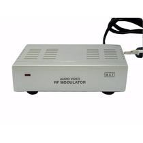 Mini Modulador Conversor De Rf P/ Áudio Vídeo Promoção