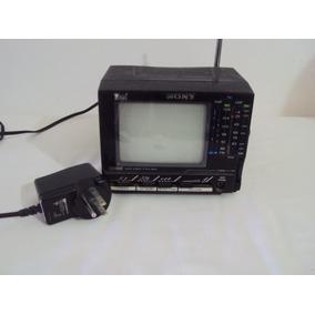 Tv Antiga Preta Sony Funcionando
