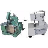 Galoneira,overlock/overloque Semi Industrial C/motor