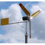 3 Projetos Geradores Eólicos Fácil Construção + Fogão Solar